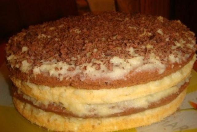"""Торт """"Птичье молоко"""" с крем-суфле на манке переплюнул ВСЕ другие! Вкуснятина нереальная."""