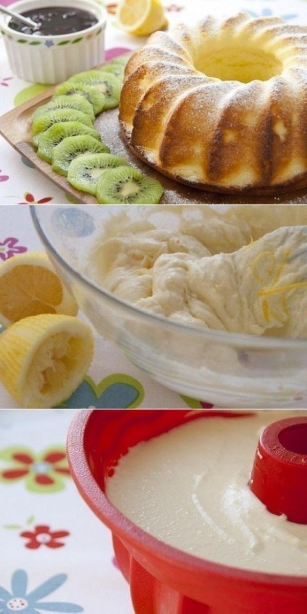Творожник лимонный. Обалденный вкус! Гости млеют!