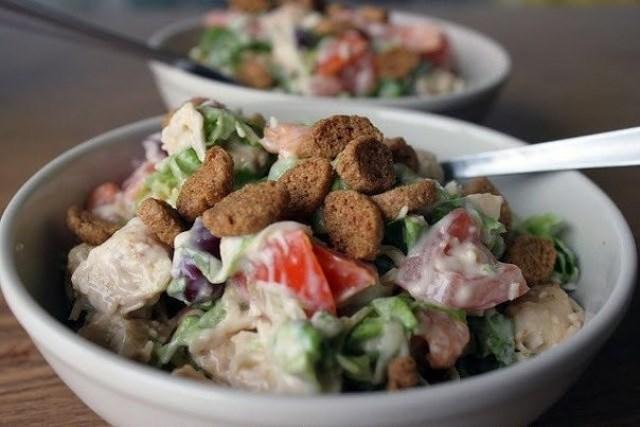 Весенний салат! Витаминно и вкусно! Мега рецепт!