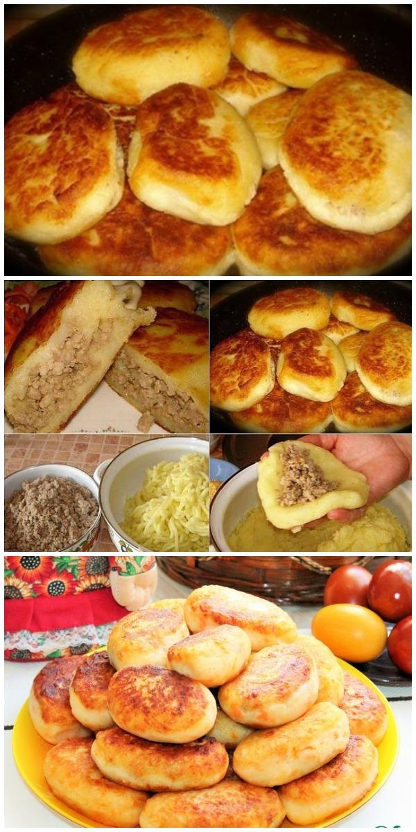 Изумительно вкусные картофельные зразы по новому рецепту