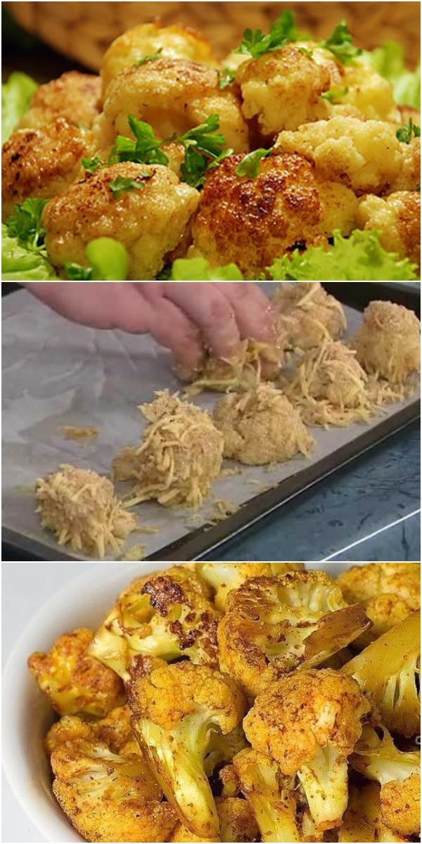 Самый полезный рецепт цветной капусты! Вкуснее и проще не бывает