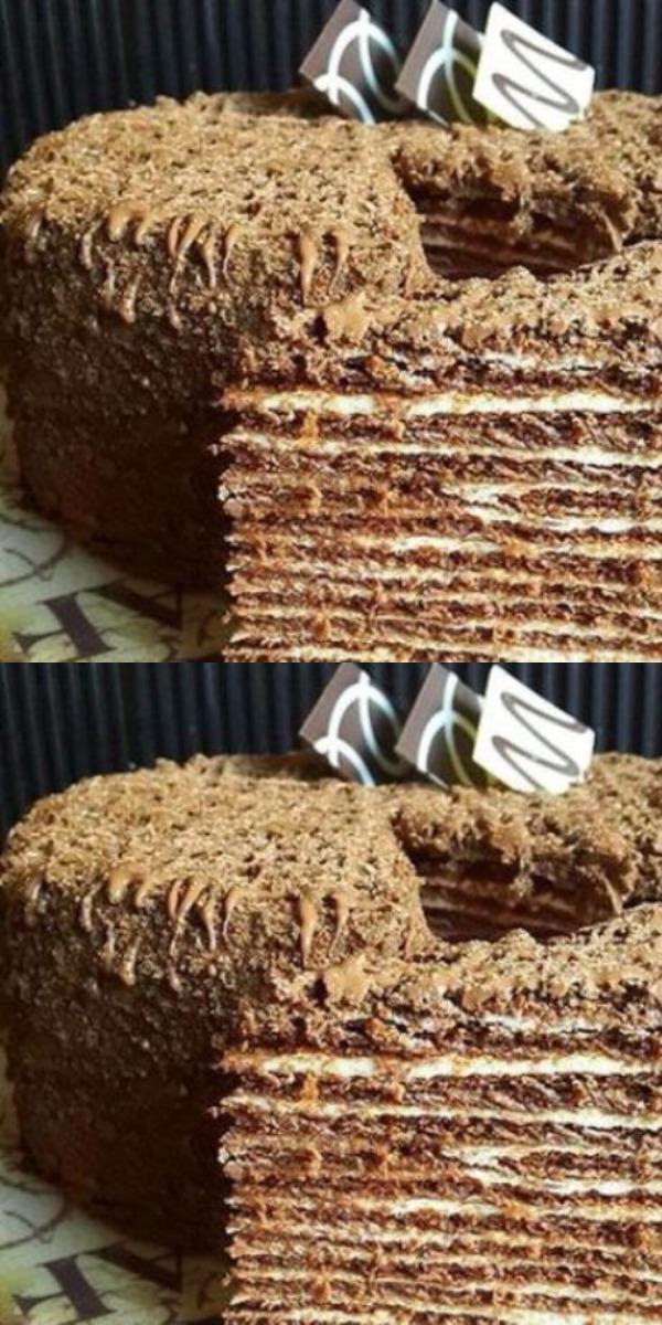 Итальянский ореховый торт просто сводит с ума. Настолько он вкусный и нежный — просто бомба!