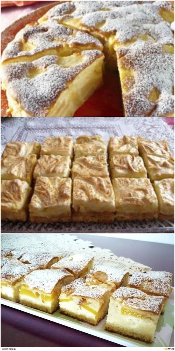 Невероятно нежный итальянский пирог с яблоками «Праздничный». Вкусно - просто не описать словами.