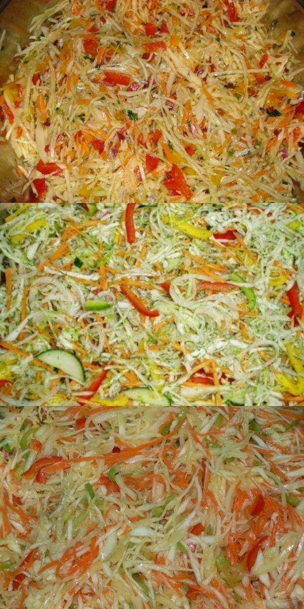 Этот салатик не задержится надолго в тарелке — быстропоедаемый овощной салат