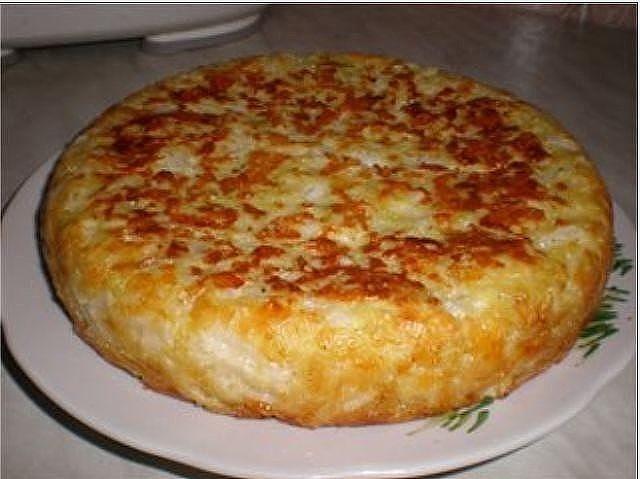 Заливной пирог с капустой. Очень вкусно, элементарно просто и быстро, а главное без всяких заморочек!