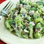 Лучший ужин - куриный салат с брокколи