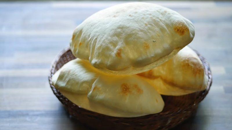 Аппетитная лепёшка с кармашком — пышная пита на сковороде