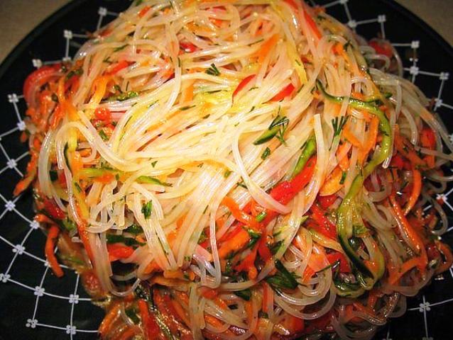 Фунчоза по-корейски - блюдо номер один в нашей семье