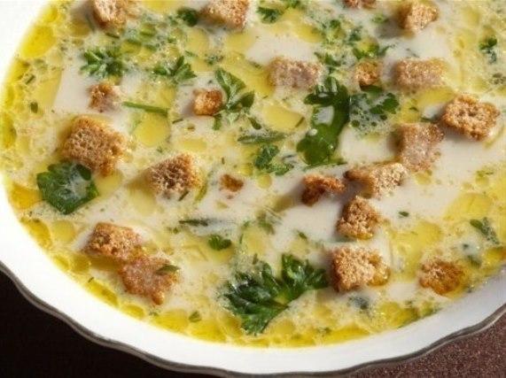 Вкуснейшие сырные супчики к обеду