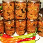 Предлагаю Вашему вниманию салат из баклажанов на зиму рецепт, готовится бысто, главное, очень вкусно.