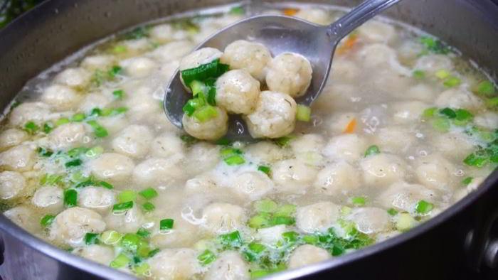 Суп, который съедается подчистую всегда