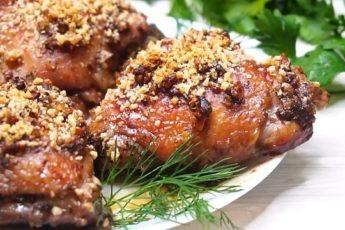 """Была на юбилее, там на столе было это блюдо из курицы, я сразу в него """"влюбилась"""" (и не только я одна)..."""