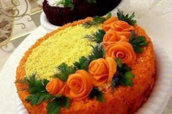 Рецепт этого салата унесла из Ресторана! Салат «МИМОЗА С ГОРБУШЕЙ И СЫРОМ»