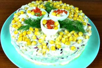 Потрясающий салат «Нежность» с пекинской капустой за 5 минут 1